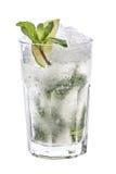 Mojito lemonade isolate water crash Royalty Free Stock Photo