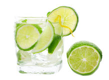 Mojito and Lime Stock Image