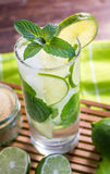 Mojito Lime Alcoholic Drink Cocktail Royalty Free Stock Photo