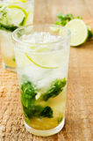 Mojito lime drink cocktail Royalty Free Stock Images