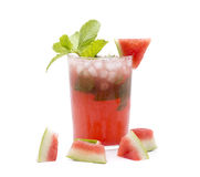 Mojito mint and watermelon Stock Photo