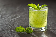 Mojito on stone Royalty Free Stock Image