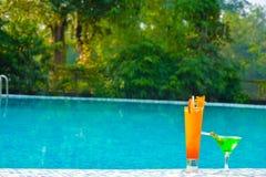 Mojito, suco e vodca - recreacionais Fotos de Stock Royalty Free