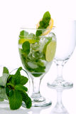 Mojito summer cocktail Royalty Free Stock Photography