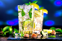 Mojito. Summer cocktail Stock Image