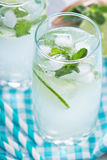 Mojito in tall glasses Stock Photography
