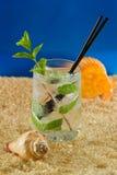 Mojito tropical de la playa Fotografía de archivo