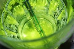 Mojito-wie grünes Cocktail Stockbilder