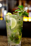 Mojitococktail stock foto