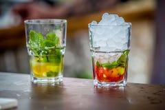 Mojitococktail stock foto