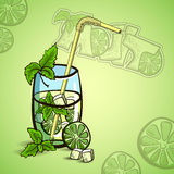 MojitoVector Royalty Free Stock Images