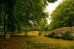 Mojones Inverness Escocia de Clava foto de archivo libre de regalías