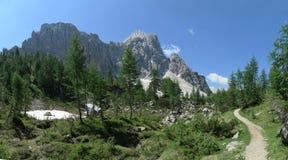 Free Mojstrovka Peak From Vratca Saddle Above Vršič Saddle In Julian Alps Royalty Free Stock Photography - 157935217