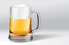 Mok bier Stock Afbeeldingen