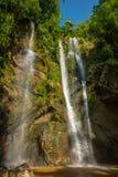 Mok Fa vattenfall Royaltyfria Bilder