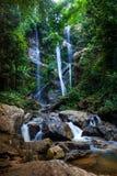 Mok Fa vattenfall Royaltyfri Foto