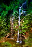 Mok Fa waterfall Royalty Free Stock Images