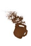 Mok koffie Stock Foto's