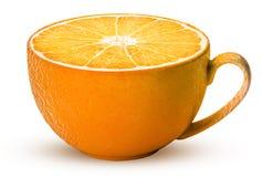 Mok vers oranje fruit stock fotografie