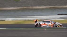 Mok Weng Sun av Clearwater Racing i den asiatLe Mans serien - lopp Royaltyfri Foto