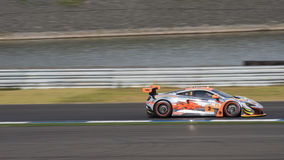 Mok Weng Sun of Clearwater Racing in Asian Le Mans Series - Race Royalty Free Stock Photo