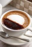 Moka chaud de café image stock