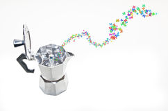 Moka dream machine Stock Photos