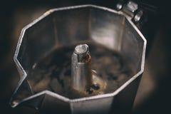 Moka espresso pot Royalty Free Stock Images