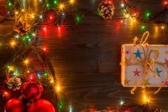 Mokcup Нового Года и рождества Стоковые Изображения RF