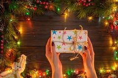 Mokcup Нового Года и рождества Стоковое Изображение