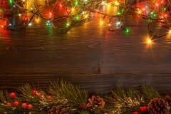 Mokcup Нового Года и рождества Стоковое Фото