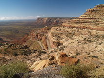 Mokee Dugway Royalty Free Stock Photo