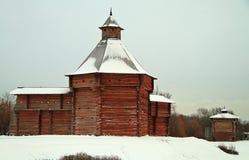 Mokhovaya Tower of Suma Stockade in former royal estate Kolomenskoye Royalty Free Stock Photography