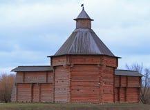 Mokhovaya Tower of Suma Stockade in former royal estate Kolomenskoye Royalty Free Stock Photo
