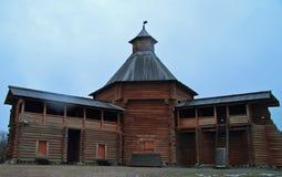 Mokhovaya Tower of Suma Stockade in former royal estate Kolomenskoye Royalty Free Stock Photos
