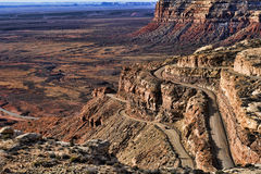 Moki Dugway Royalty Free Stock Images