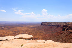 Moki Dugway, Muley Point Overlook Royalty Free Stock Image
