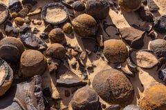 Moki marbles Stock Images