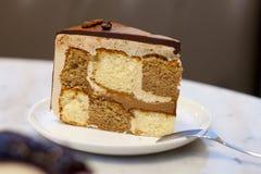 Mokka-Kuchen Stockbilder