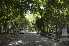 Mokkhaplaram Religion Practice Garden or Wat Than Nam Lai Royalty Free Stock Image
