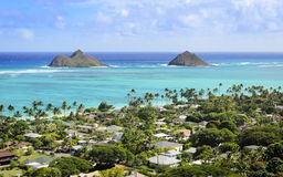 Lanikai Hawaii Stock Photography