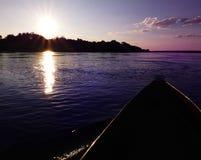 Free Mokoro Canoe Trip Royalty Free Stock Photography - 39069627