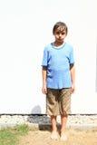 mokra chłopca zdjęcia royalty free