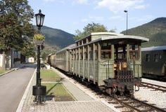 Mokra Gora narrow gauge railway station. On Sargan Eight railway royalty free stock photo