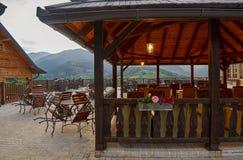 Mokra Gora, Serbia - June 02, 2017: Drvengrad village in Western Royalty Free Stock Photography