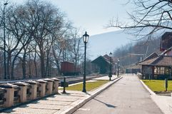 Mokra Gora station Royalty Free Stock Photo