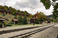 Mokra Gora Zlatibor lizenzfreies stockfoto