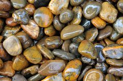 Mokra kamienna tekstura 2 Zdjęcia Stock