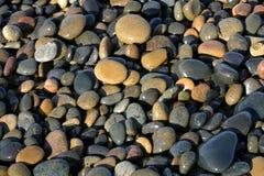 mokre kamienie Zdjęcie Royalty Free