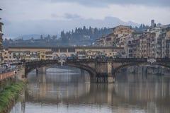 Mokry Florencja zdjęcia stock